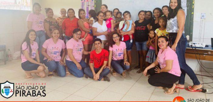 Criança Feliz – Coordenação apresenta programa nas vilas de Santa Luzia e Nazaré
