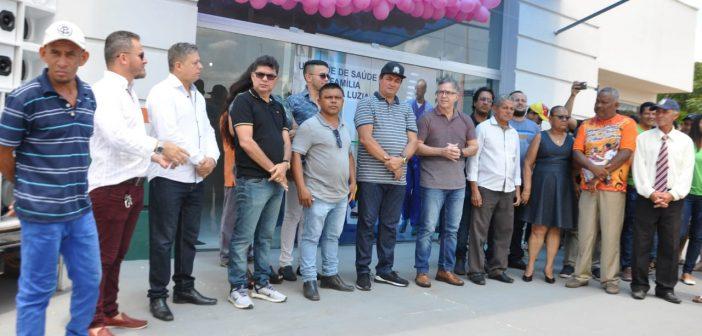 Vila de Santa Luzia recebe ESF