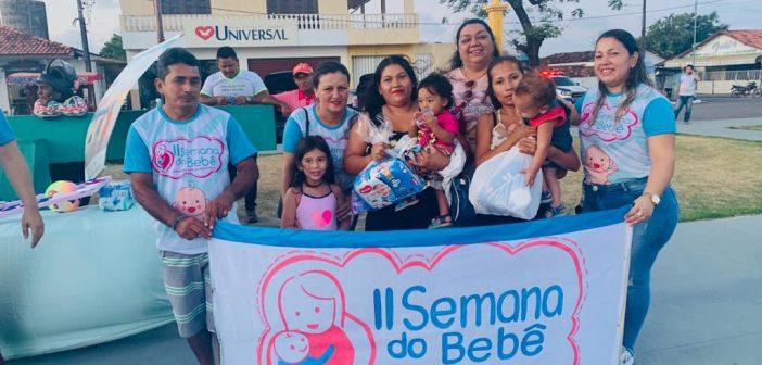 Caminhada encerra a programação da II Semana do Bebê